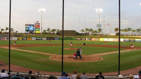 The pitch - Clearwater, Florida