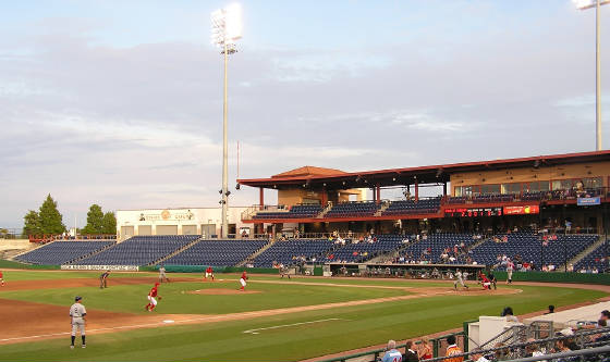Game action in Clearwater, Florida